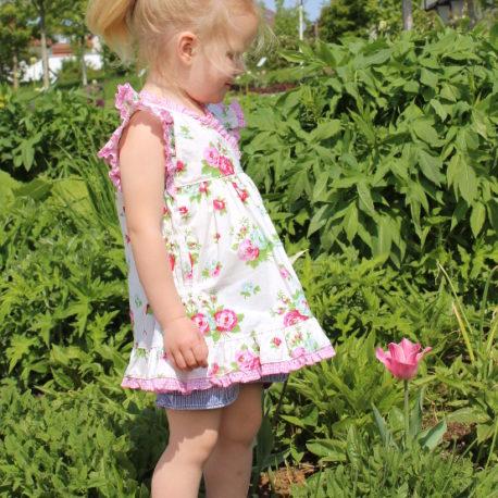 Designbeispiel Schnittmuster Sommerbluse Karys